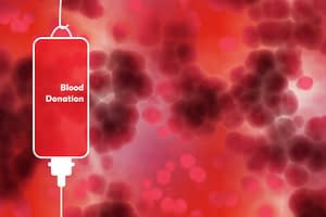 blood donation required